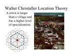 walter christaller location theory3