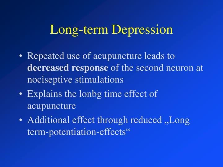 Long-term Depression