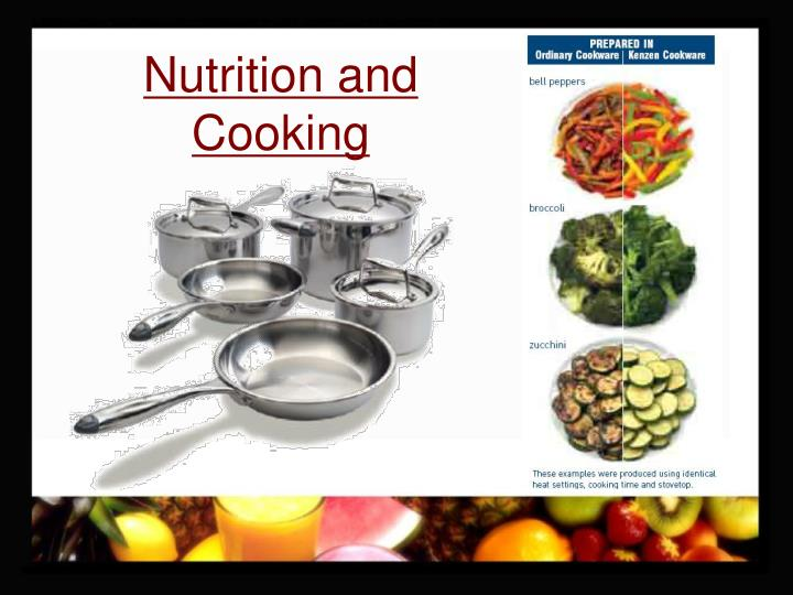 Nutrition and Cooking
