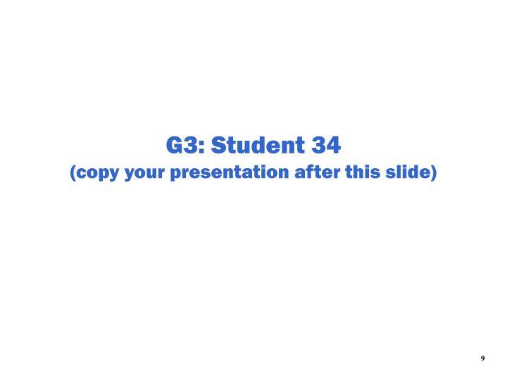 G3: Student 34