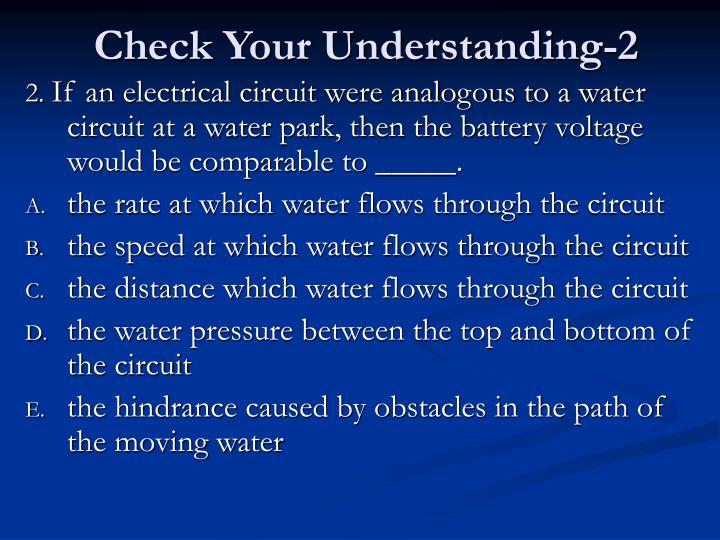 Check Your Understanding-2