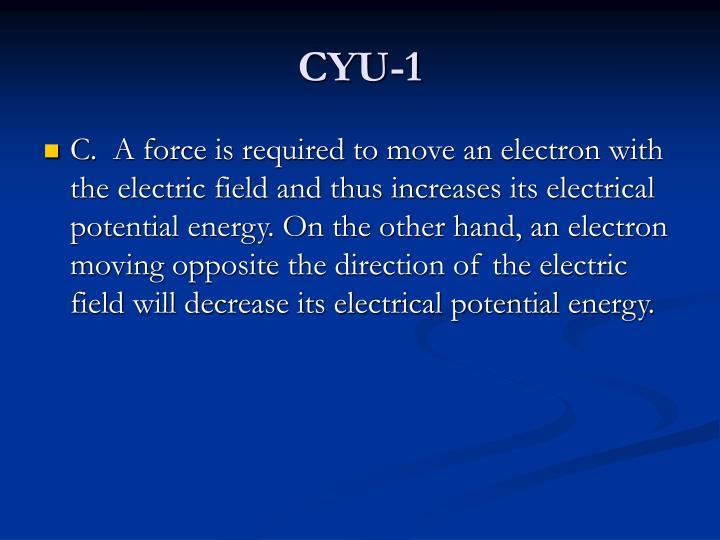 CYU-1