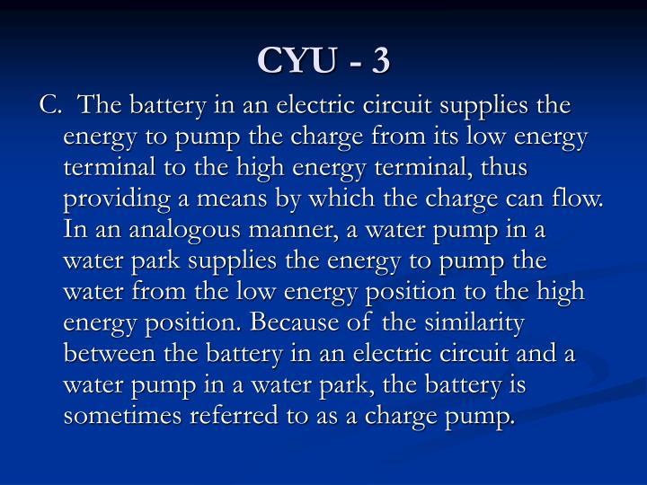 CYU - 3