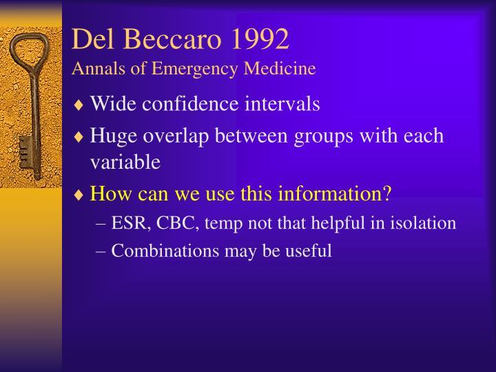 Del Beccaro 1992