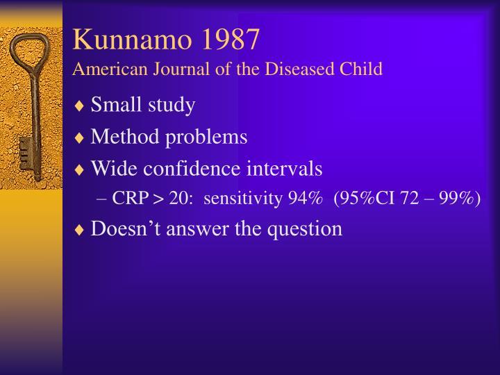 Kunnamo 1987