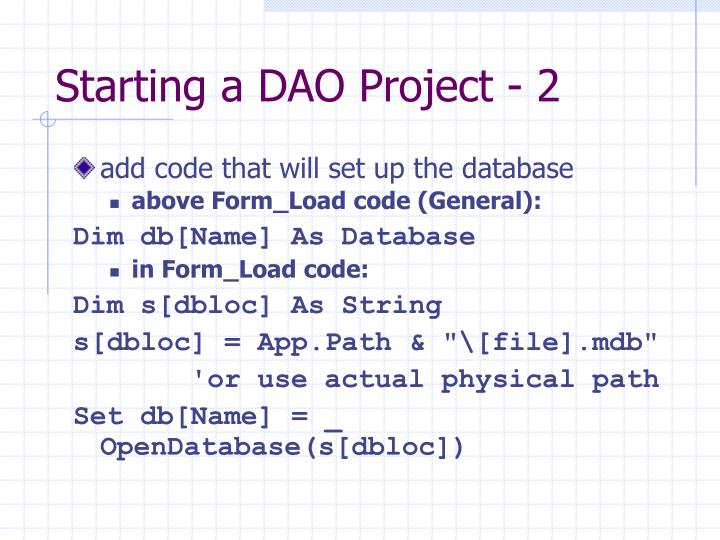 Starting a DAO Project - 2