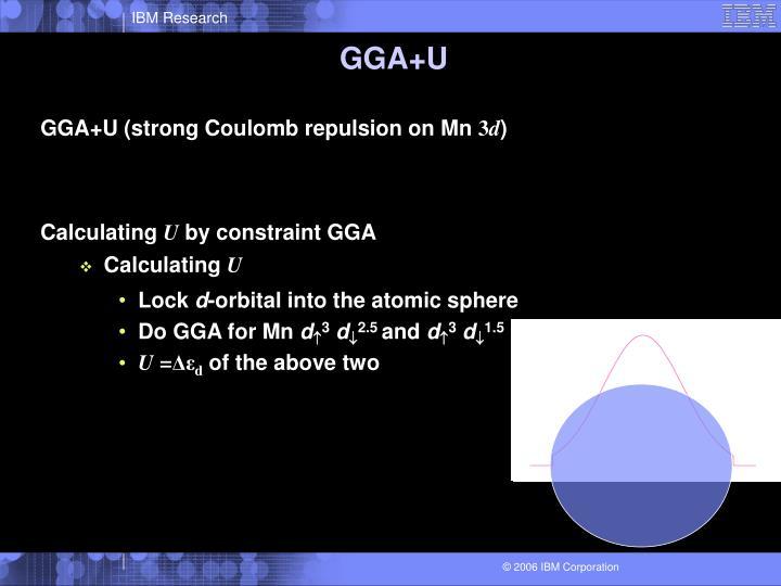 GGA+U