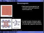 nanomagnets