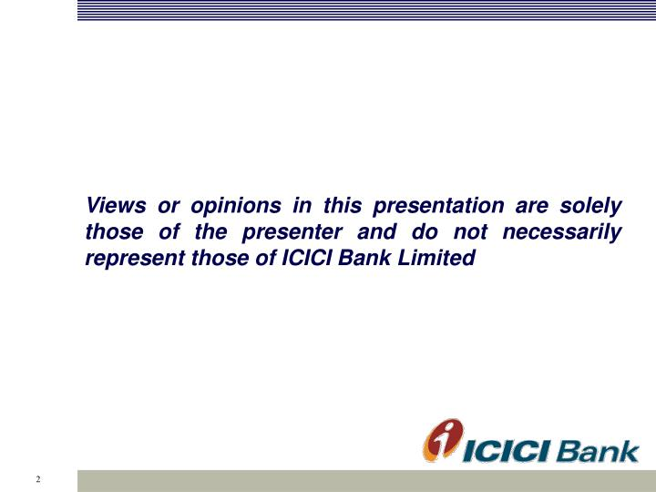 Views or opinions in this presentation are solely those of the presenter and do not necessarily repr...