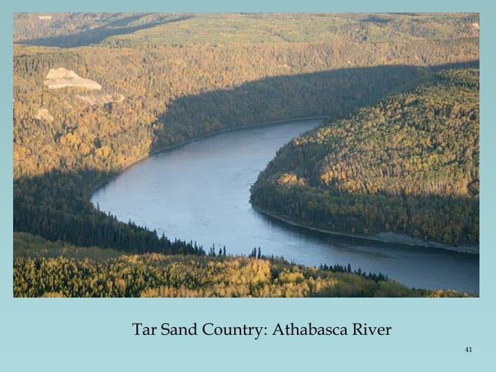 Tar Sand Country: Athabasca River