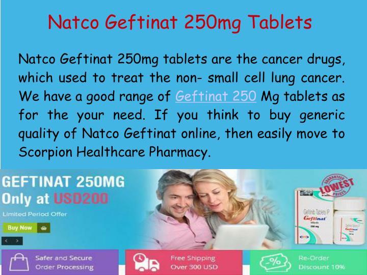 Natco Geftinat 250mg Tablets
