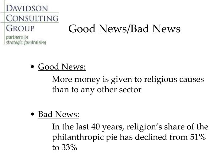 Good News/Bad News