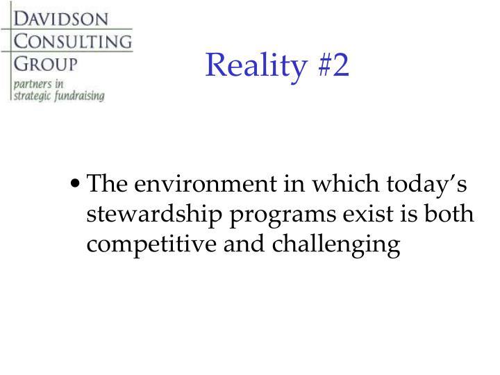 Reality #2