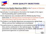 rodg quality objectives3