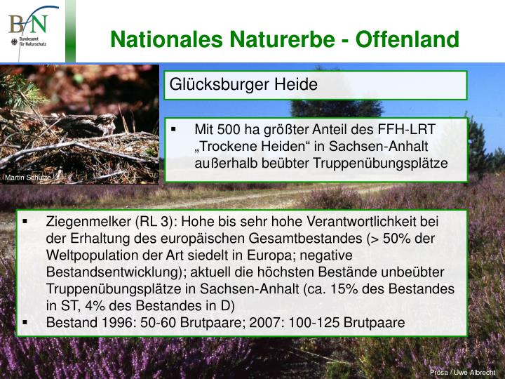 Nationales Naturerbe - Offenland