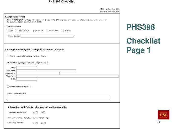 PHS398