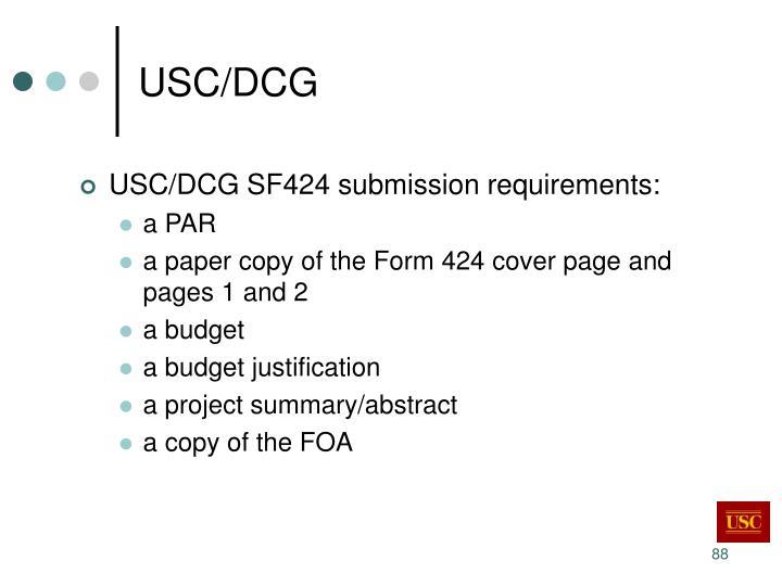 USC/DCG