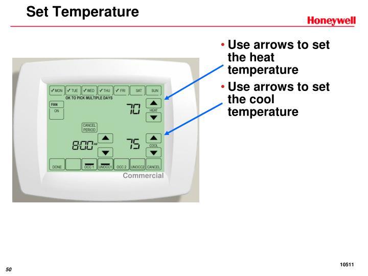 Set Temperature