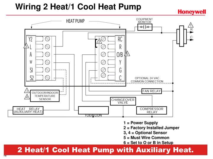 Wiring 2 Heat/1 Cool Heat Pump