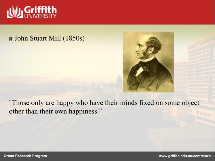 John Stuart Mill (1850s)
