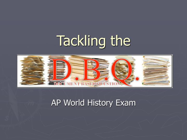 DBQ for AP US History Essay - 2093 Words - Bartleby