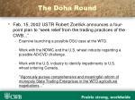 the doha round