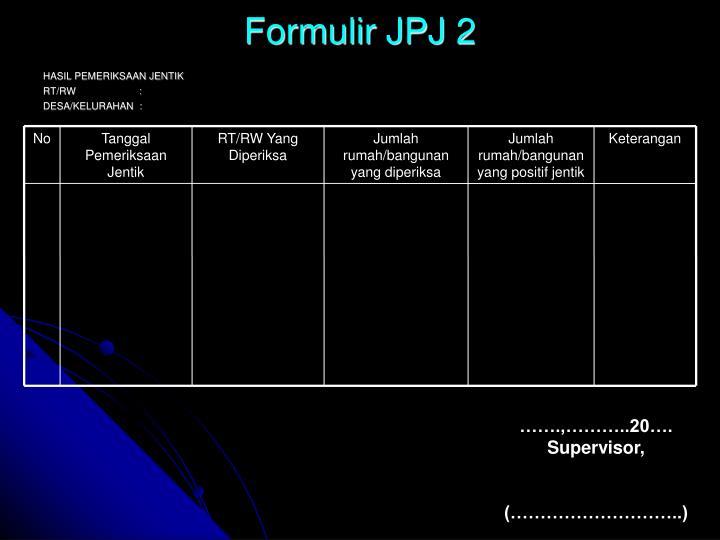 Formulir JPJ 2