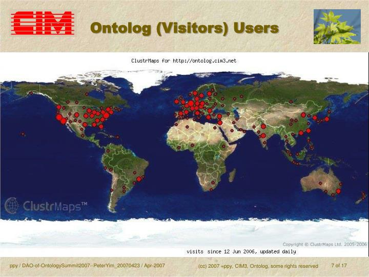 Ontolog (Visitors) Users