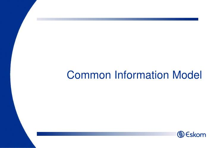 Common Information Model