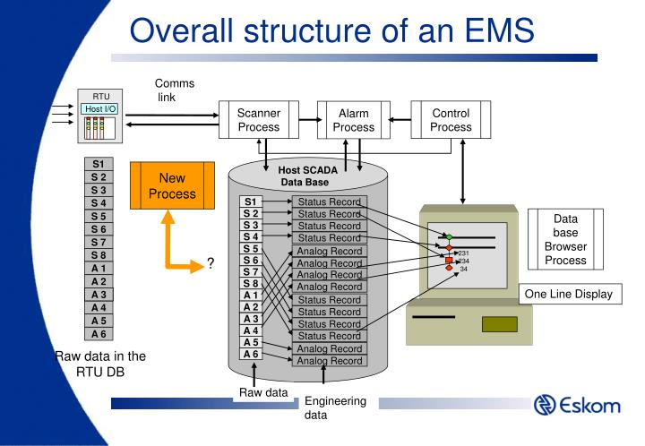 Overall structure of an EMS