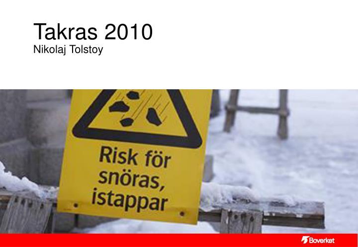 Takras 2010