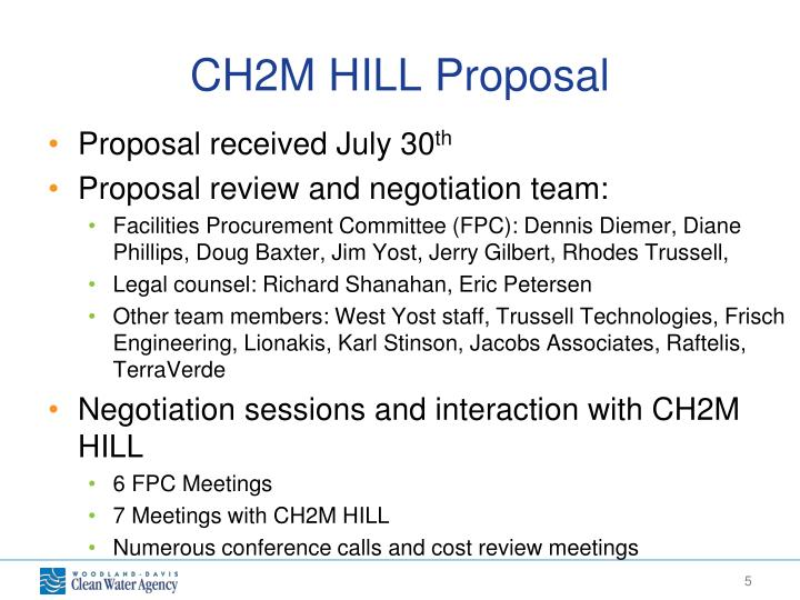 CH2M HILL Proposal