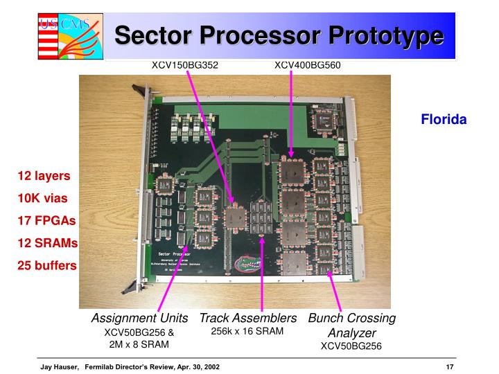 Sector Processor Prototype