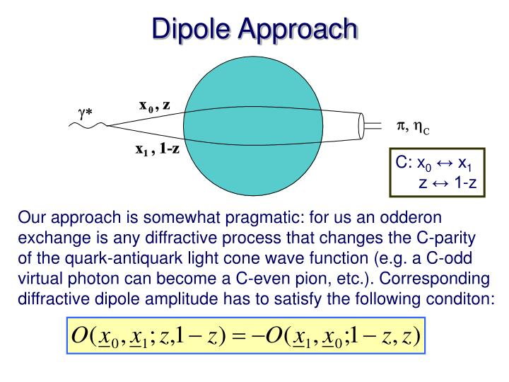 Dipole Approach