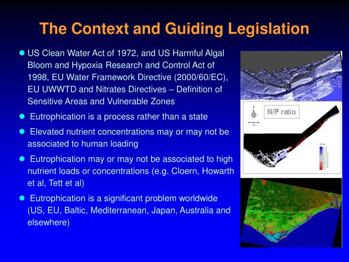 The Context and Guiding Legislation