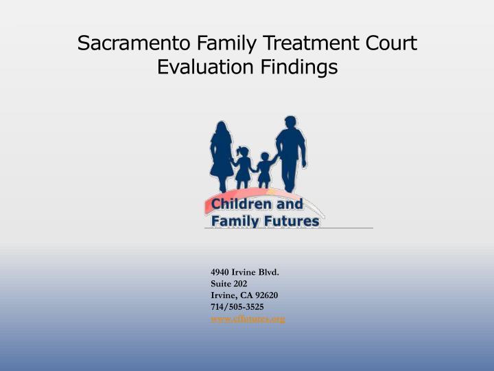 Sacramento Family Treatment Court