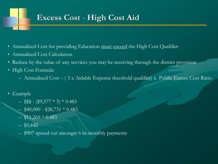 Excess Cost