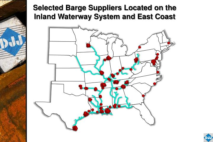 Selected Barge Suppliers Located on the