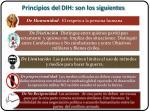 principios del dih son los siguientes