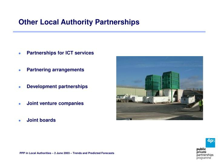 Other Local Authority Partnerships