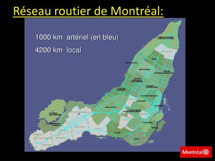 Réseau routier de Montréal: