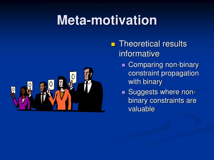 Meta-motivation