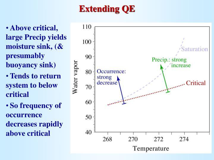 Extending QE