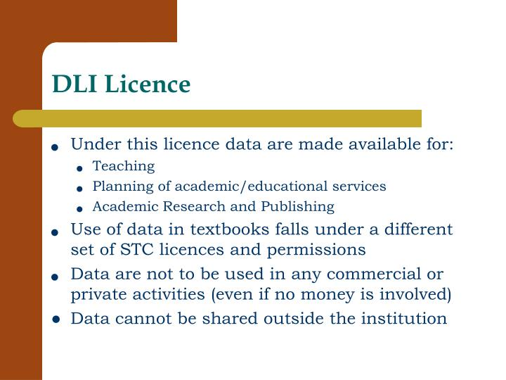 DLI Licence