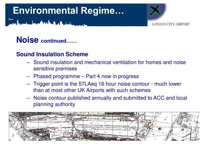 Sound Insulation Scheme