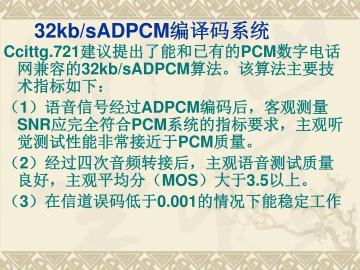 32kb/sADPCM