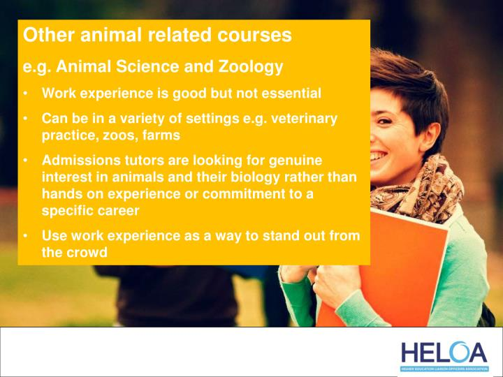 Other animal related courses