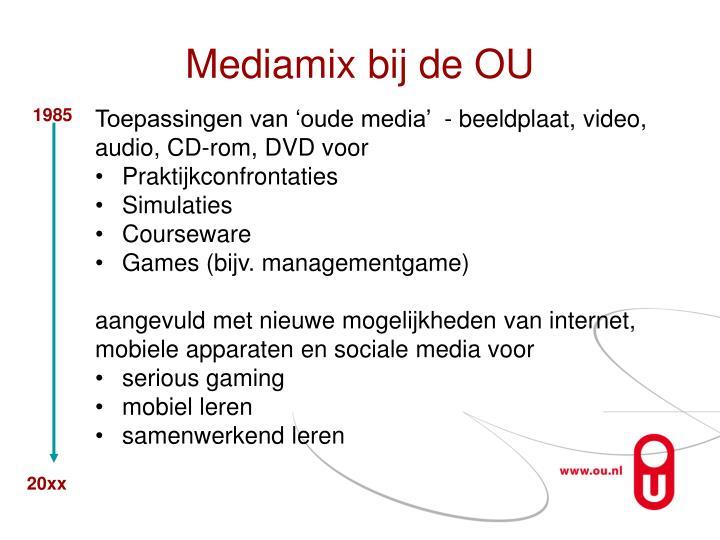 Mediamix bij de OU