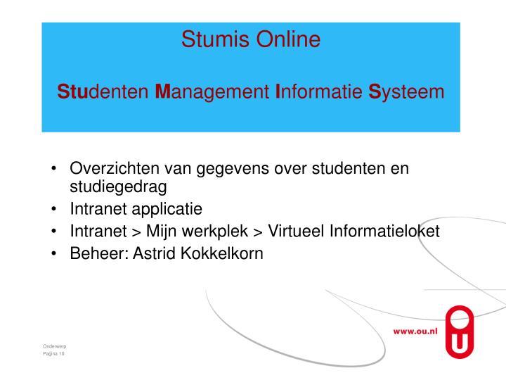 Stumis Online