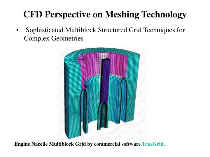 CFD Perspective on Meshing Technology